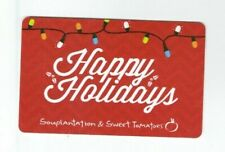 Souplantation & Sweet Tomatoes Gift Card Restaurant - Holiday Lights - No Value