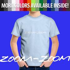 Zoom-Zoom Mazda Slogan 3 6 Mazda3 Mazda6 Automotive Kids Tee Children's T-Shirt