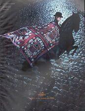 ▬► PUBLICITE ADVERTISING AD Hermès Carré Géant En Twill Lavé 2010