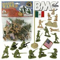 1:32 54mm US Mexico Border Wars Figures Plastic Toy Soldier BMC 40038