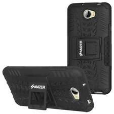AMZER Hybrid Warrior Dual Layer Soft Cover Hard Shell Stand Case for Huawei Y5II