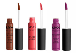 NYX Soft Matte Lip Cream ~ Choose Your Color ~ New Sealed.