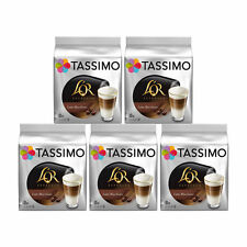 Tassimo L'OR Latte Macchiato Coffee T-discs, 5 Pack, 80 T-Discs/ 40 Drinks