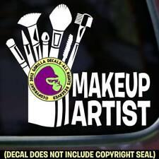 MAKE UP ARTIST Professional Vinyl Decal Sticker Brush Tools Sign Car Window Sign