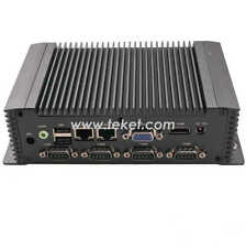 Industrial Mini PC N26ECM atom n2600,dual core1.6ghz 6*COM 2*LAN wifi barebone