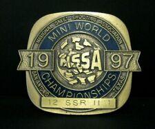 Nssa National Mini World Skeet Shoot Championships 1997 Award Pin 12 Ssr Ii 1