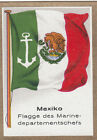DRAPEAU MEXICO MEXIQUE Department of Marine chef Departement FLAG CARD 30s