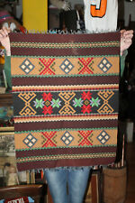 """Antique Hand Knotted Woven 29"""" x 22"""" Prayer Rug Camel Horse Blanket Rug"""