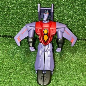 2008 Transformers Animated Starscream Mcdonalds Happy Meal Action Figure Toy