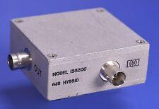 Hewlett Packard HP Model 15520C 6dB, 75 Ohm Hybrid For 3570A Attenuators