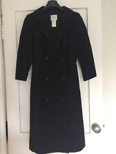 CELINE WOMEN'S BLACK DRESS COAT SIZE 38