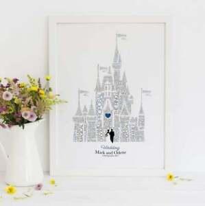 Disney inspired wedding gift,Paper anniversary gift,Disney wedding, lgbt wedding
