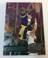1997-98 Skybox Metal Universe basketball SHAQUILLE O'NEAL #50