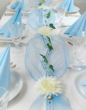 """Komplette Tischdeko für Taufe/Geburt Junge  Fibula[Style]® """"Little Prince"""" Gr. M"""
