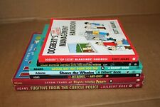 Dilbert 7 Books Scott Adams Casual Day Shave The Whales Cubicle Police Dogbert