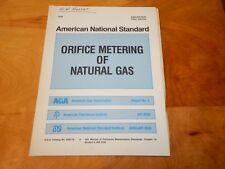 Aga. Catalog Api Manual Petroleum Measurement Standard Orifice Natural Gas Ansi