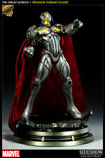 SIDESHOW GREAT ULTRON PREMIUM Format FIGURE MARVEL STATUE AVENGERS bust Movie