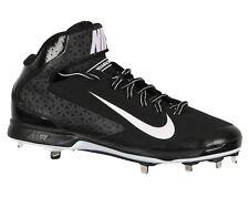 Nike Huarache Pro Mi Métal Baseball Cale Sz 14 Noir/Blanc MLB
