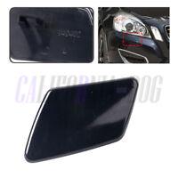 Primed Left Passenger Headlight Washer Cover Cap For VOLVO S40 V50 2005-2007