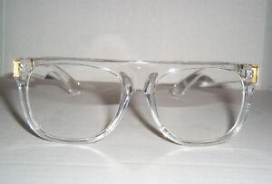Nerd Nation Vintage 80's Retro Clear Glasses