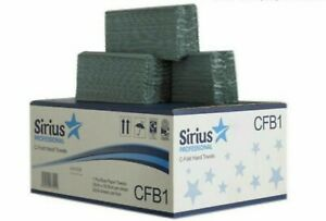 (Box of 2624) Sirius C-Fold Hand Towels Paper Towels 2624 Hand Paper Towels Blue