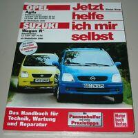 Reparaturanleitung Opel Agila + Suzuki Wagon R+ ab 2000 Reparatur Buch Neu!