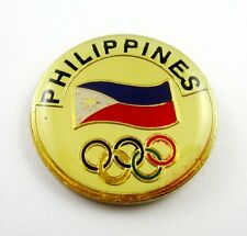 Rare Olympic pin Philippines NOC National Olympic Committee