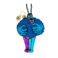 "Radko Merry Blue Meanie 7"" Ornament 1019342"