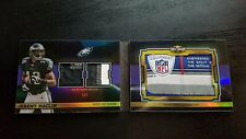 2011 TOPPS TRIPLE THREADS JEREMY MACLIN LAUNDRY TAG 1/1 BOOKLET