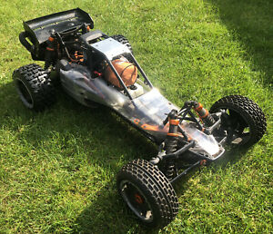 HPI Baja 5B SS 26cc RC CAR 1/5th scale (with upgrades and spares)