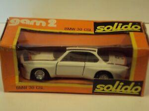 SOLIDO 1/43 BMW 3,0 CSL. N°51 LE MANS 1973 (11ème).