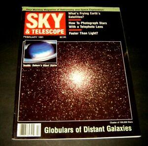 Sky and Telescope magazine February 1991