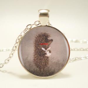 Hedgehog Pendant Necklace Handmade Fashion Necklace For Women (F193)