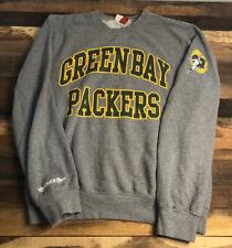 Mitchell And Ness Green Bay Packers Throwback Sweatshirt Mens Size Medium