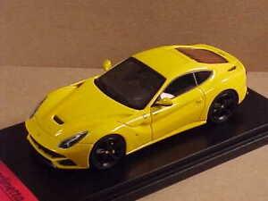 FUJUMI #FJM1343013 1/43 Diecast 2012 Ferrari F12berlinetta Coupe, Moderna Yellow