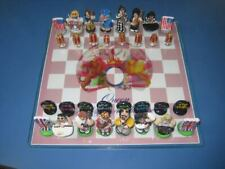 Unique One Of A Kind Handcrafted Queen Chess Set 1970's vs. 1980's