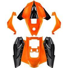 Chinese ATV Body Fender Kit - Orange - Taotao ATA125G Cheetah