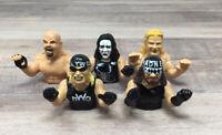 WCW NWO 1999 Wrestling Finger Puppets Lot of 5 VINTAGE NEW OLD STOCK