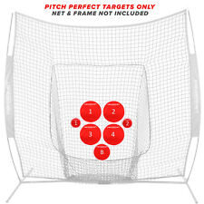 PowerNet Pitch Perfect Training Targets (Target Discs Only) Baseball Softball