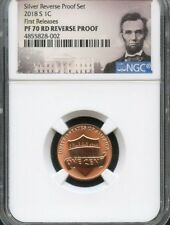 2018 S Lincoln Penny REVERSE PROOF NGC PF70 RD (POR) FIRST RELEASES.