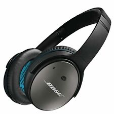 Bose QuietComfort 25 Black Headband Headphones, Noise Cancelling - Wired