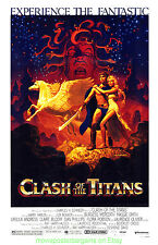 CLASH OF THE TITANS MOVIE POSTER 11x17 With Plastic Holder  HILDEBRANDT Artwork