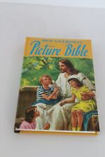 Catholic Picture Bible Full Color Illustrations Imprimatur Old & New Testament