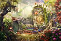 Home Art Wall Decor Landscape Fantasy Garden Oil Painting HD Printed On Canvas