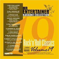 Mr Entertainer Karaoke Classics Vol 19 - Rock N Roll Classics  CDG Disc