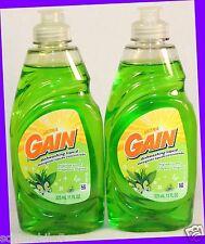 2 Gain Ultra Dishwashing Liquid Detergent Original Scent 11 oz / 325 mL