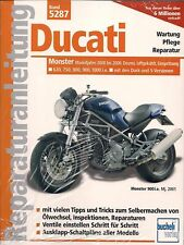 Réparation Instructions 5287 Ducati Monster 1000 900 800 750 620/DESMO/Dark, NEUF