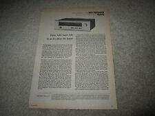 Dynaco AF-6 Sintonizzatore Review, 1974, 2 Quaderni, Full Test