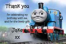 10 THOMAS THE TANK PERSONALISED BIRTHDAY PARTY THANK YOU CARDS/NOTES