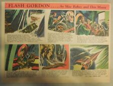 Flash Gordon Sunday Page by Mac Raboy from 4/5/1953 Half Page Size